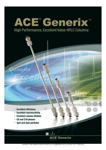 ACE Generix - Winlab.com.au