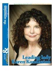 Leading lady Karen Kondazian - Armenian Reporter