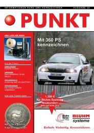 Mit 360 PS kennzeichnen - Bluhm Systeme GmbH