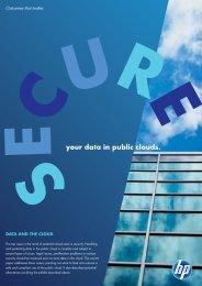 your data in public clouds. - Enterprise CIO Forum