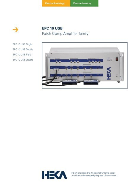 patch clamp amplifier