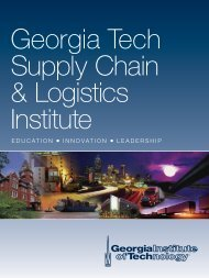 SCL Viewbook (PDF - 1.6MB) - The Supply Chain and Logistics ...