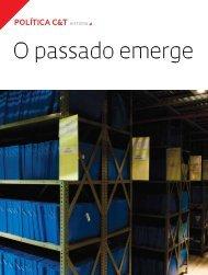 o passado emerge - Revista Pesquisa FAPESP