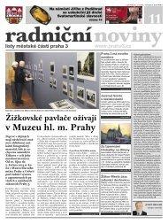 Radniční noviny - listopad 2012 - Praha 3