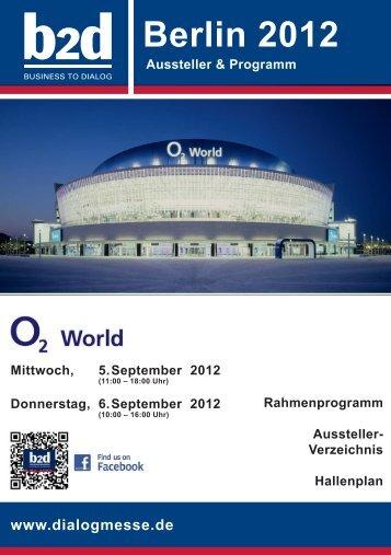 Berlin 2012 - b2d business to dialog Hofes e.K.