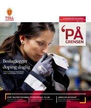 Beslaglegger doping daglig - Toll og avgiftsdirektoratet