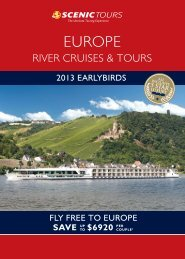 fly free to europe - Scenic Tours