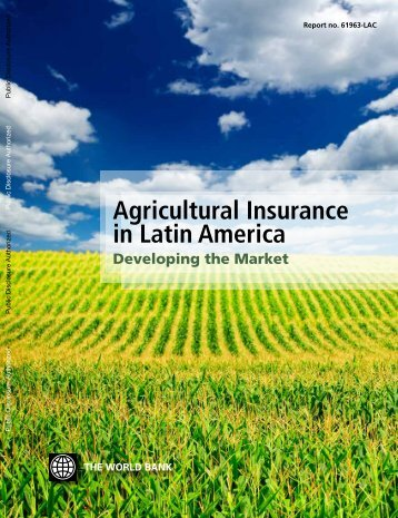 agricultural insurance penetration in lac - FAO
