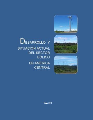desarrollo y situacion actual del sector eolico en america central