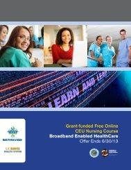 Grant-funded Free Online CEU Nursing Course ... - CA-HWI