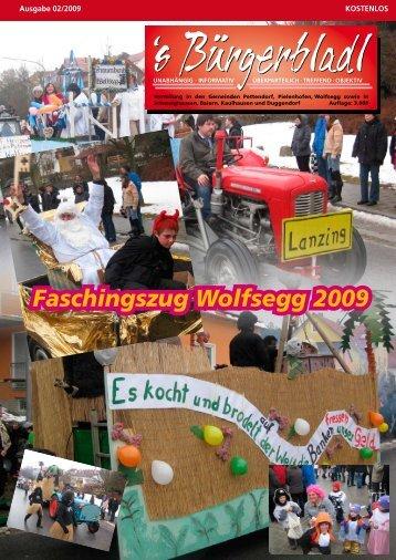 Faschingszug Wolfsegg 2009 - Druckservice Weiss