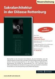 Flyer des Verlags