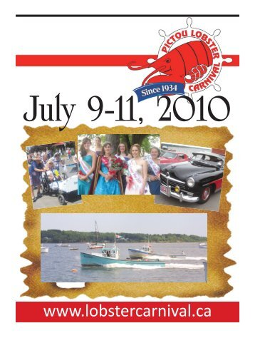 2010 Lobster Carnival - The Pictou Advocate