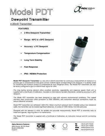 4-20mA Transmitter - Brave Engineering Ltd.
