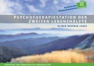 Psychotherapiestation der zweiten Lebenshälfte