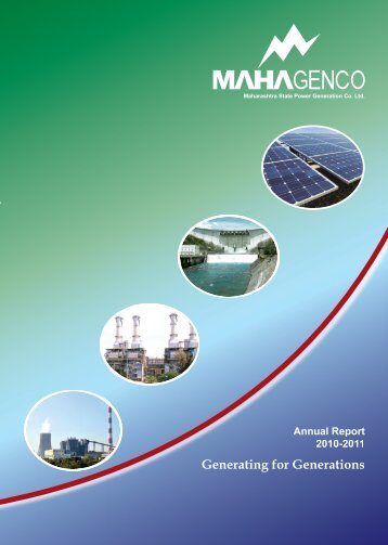 annual report 2010-2011 - Mahagenco