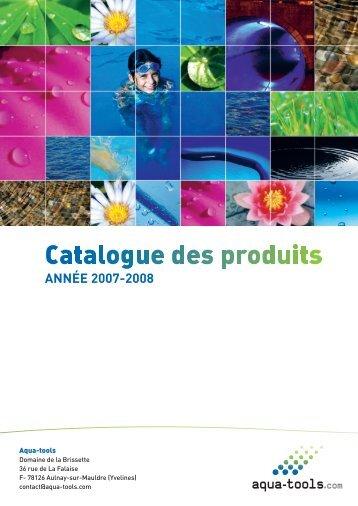 Catalogues des produits - Aqua-tools