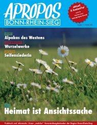 Apropos Bonn-Rhein-Sieg Ausgabe 1/2012