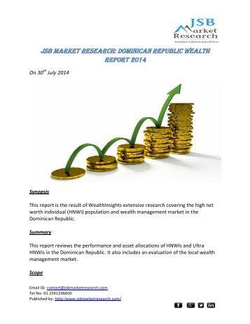 JSB Market Research: Dominican Republic Wealth Report 2014