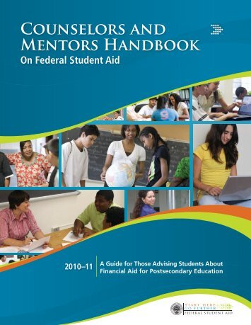 Counselors and Mentors Handbook on Federal Student Aid