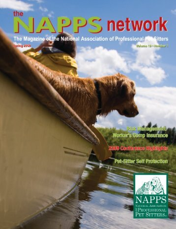 Spring 2009 - National Association of Professional Pet Sitters