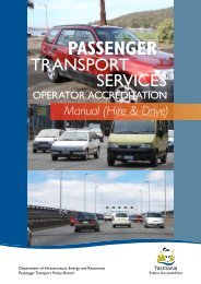 Operator Accreditation Hire and Drive Manual - Transport