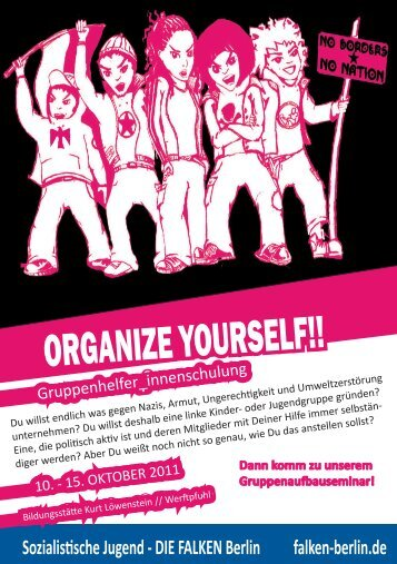 ORGANIZE YOURSELF!! - Falken Berlin