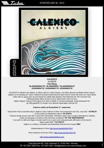 2CD/CD/LP+CD - Tuba Records