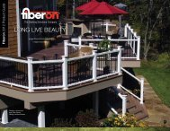 Fiberon 2012 Product Guide - Huttig Building Products