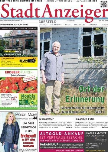 Stadt Anzeiger Coesfeld kw 31 2014