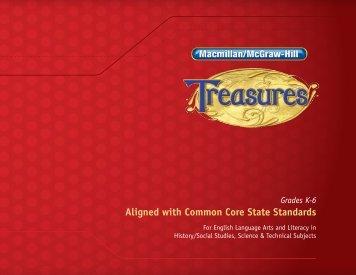 Treasures ©2011 Correlation - MHEonline.com