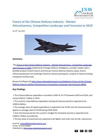 2014 sri lankan defense market analysis The future of the sri lankan defense industry - market attractiveness, competitive landscape and forecasts to 2022, published by strategic defence intelligence.