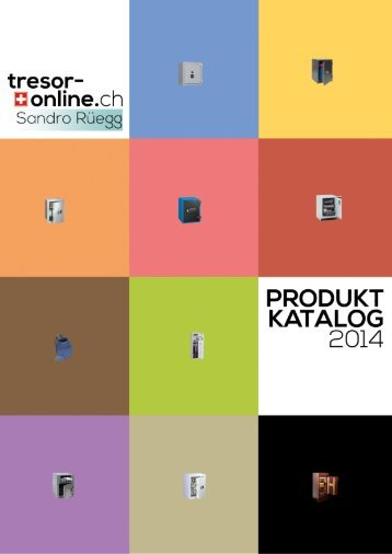 tresor-online.ch Produktkatalog 2014