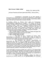 Ofício Circular nº 009/DIASS-2006 - Ipasgo