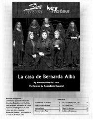 La Casa de Bernarda Alba - State Theatre