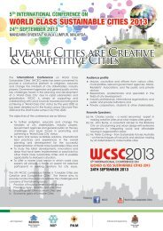 Liveable Cities are Creative Liveable Cities are Creative