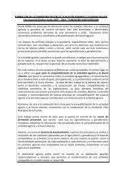 FORMACIÓN EN LA COMPATIBILIZACIÓN DE LA GESTIÓN ... - Coag