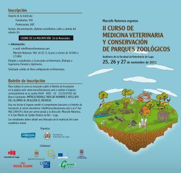 ii curso de medicina veterinaria y conservación de parques zoológicos