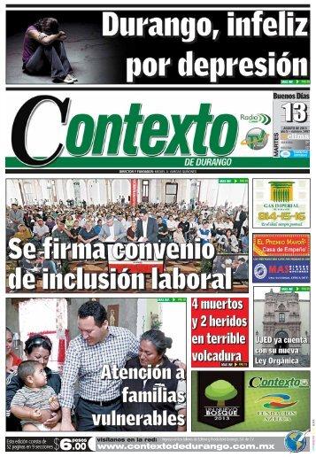 13/08/2013 - Contexto de Durango