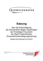 Satzung - Friedrichshafen