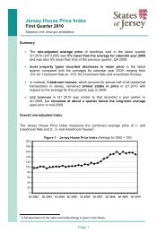 House Price Index report for Q1 2010 - States of Jersey