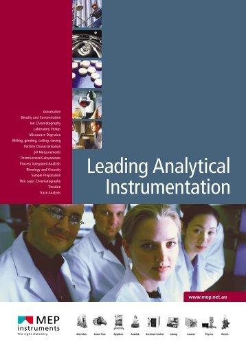 MEP Catalogue 2004 - MEP Instruments