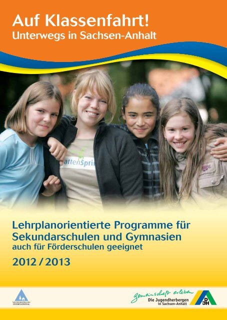 Sekundarstufen (3,3 MB) - DJH Sachsen-Anhalt