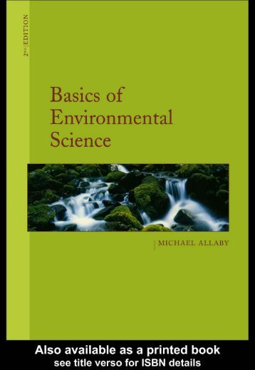 environmental science earth as a living planet pdf