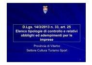 Scarica il file PDF - Provincia di Viterbo