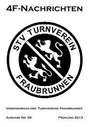 4F-Nachrichten Mai 2013 - Turnverein Fraubrunnen