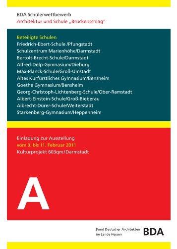 Einladung zur Ausstellung vom 3. bis 11. Februar ... - BDA-Hessen