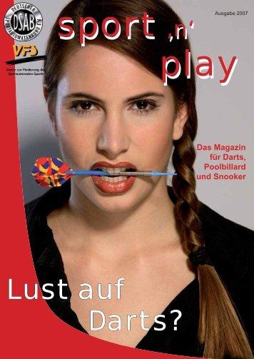 Lust auf Darts? - Dart1.net