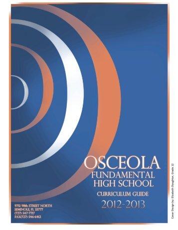 Curriculum Guide 2012-13 - Osceola Fundamental High School ...
