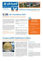Mai 2013 (pdf | 2753 Kb) - Raiffeisen-Volksbank Ebern eG